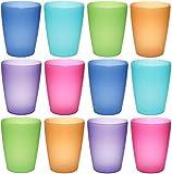 NEO Kunststoff-Becher in bunten Farben zum Spielen und Trinken