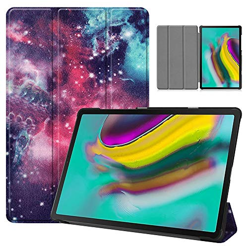 RZL PAD & TAB cases For Samsung Tab S5e 10.5 Inch, Floral Butterfly Print Decoration Case Shockproof Anti Dust Back Stand Tablet Shell Case for Samsung Tab S5e T720 T725 10.5 Inch (Color : A)