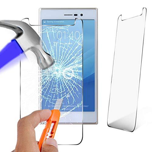 N4U Online® Echt Hartglas Displayschutzfolie Doogee TURBO2 DG900