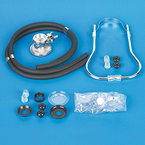 Servoprax G5 022 Ersatzteile für Rappaport Stethoskope, Zubehör Set, mit Membranen, Aufsätzen, Ohroliven, im Etui