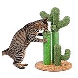 Diaod Juguetes de árbol Lindos del árbol de los Gatos del Cactus con Las publicaciones del rascador de la Bola para los Gatos del Gatito del árbol de Escalada de los Gatos del Juguete