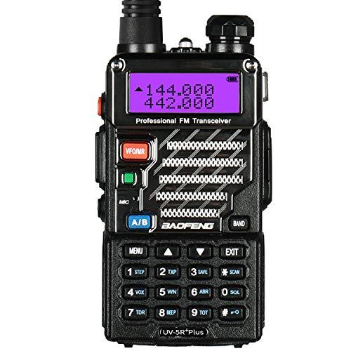 Baofeng UV Plus Radio Transceiver Dual Band Long Range Walkie Talkie