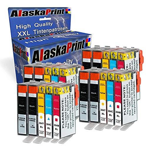 Alaska 20-er Pack Druckerpatronen Ersatz für HP 364 XL 364XL kompatibel mit HP Photosmart 5510 5515 5520 5524 6510 6520 6515 7510 7520 C5380 HP Deskjet 3070A 3520 HP OfficeJet 4620 4622