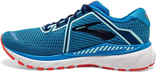 Brooks Damen Adrenaline GTS 20 Laufschuh, Blue Navy Coral, 40 EU