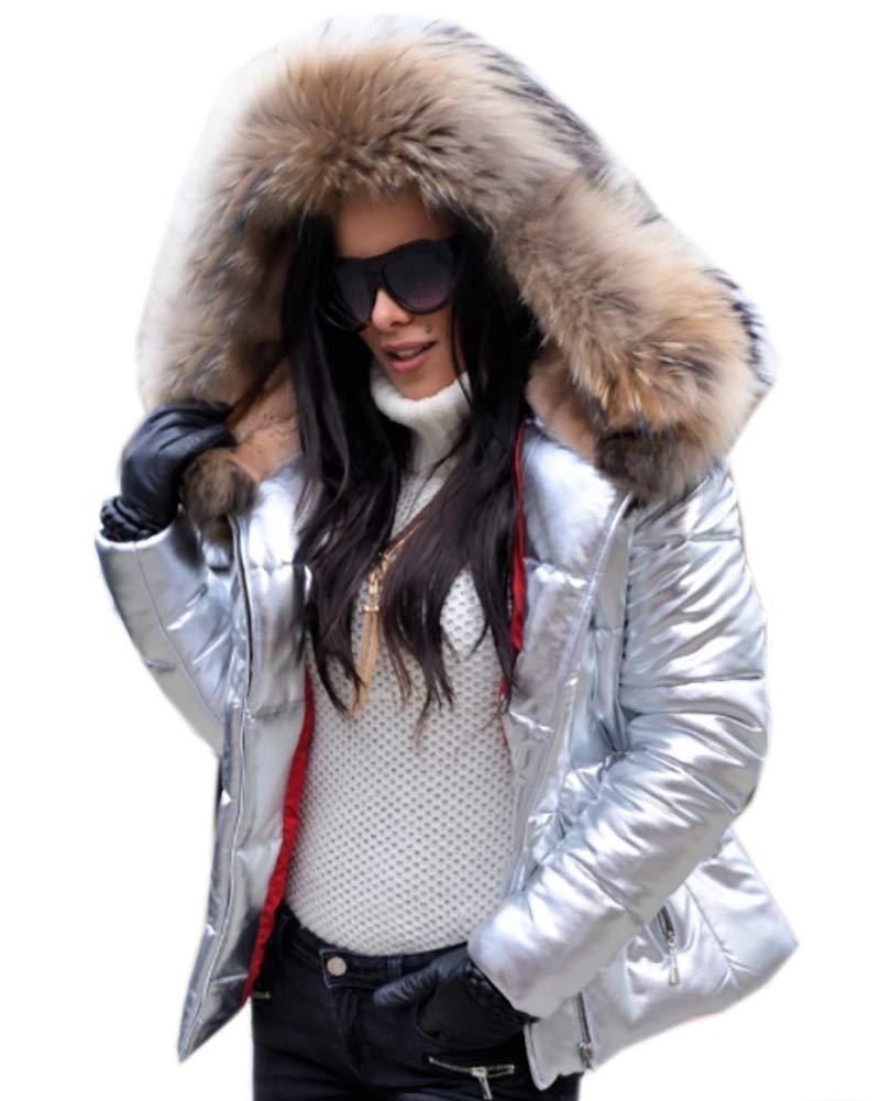 Roiii Women Winter Jacket Outdoor