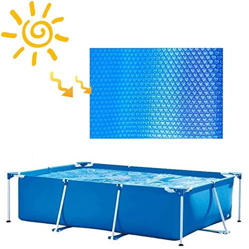 Couvertures solaires pour piscines faciles à installer et encadrer les piscines Piscine gonflable, couvertures solaires pour piscines creusées et hors terre, couvertures solaires, 5.4m x 10.8m