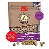 Cloud Star Tricky Trainers Crunchy, Low Calorie Training Dog Treats, Made in the USA, Wheat & Corn Free, 8oz Liver