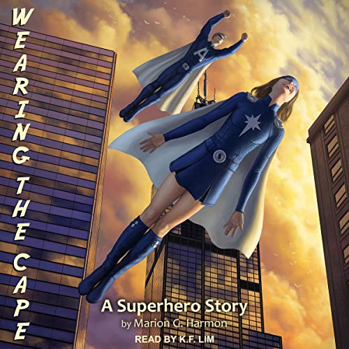 Wearing the Cape audiobook cover art