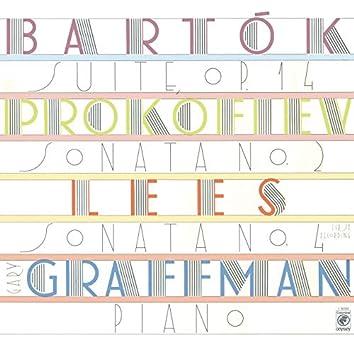Lees: Piano Sonata No. 4 - Bartók: Suite for Piano, Op. 14 - Prokofiev: Piano Sonata No. 2, Op. 14