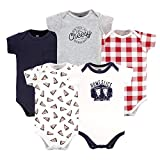 Hudson Baby baby boys Cotton Bodysuits and Toddler T Shirt Set, Homeslice, 3-6 Months US