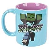 JINX Minecraft Zombie Ceramic Mug, 11 ounces