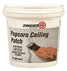 popcorn ceiling repair