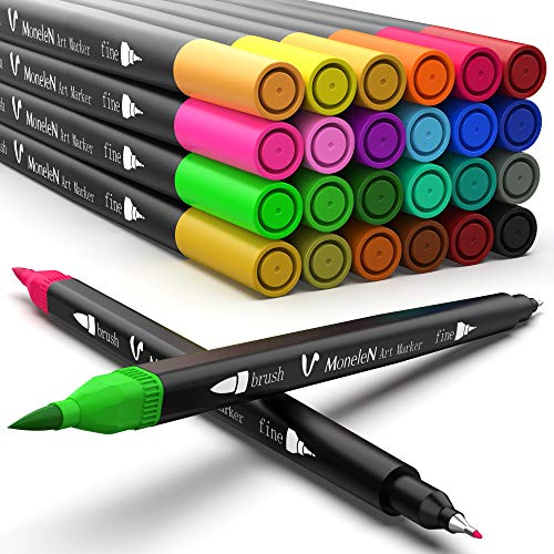 Coloring Markers for Adult Coloring Books Fine Tip...