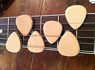 Leather Guitar Picks (6 Pack)