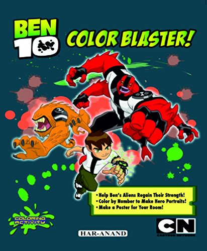 BEN 10 COLOURING BOOKS COMBO:5 (Marge Kennedy,Cait Kennedy) (PAPER BACK)