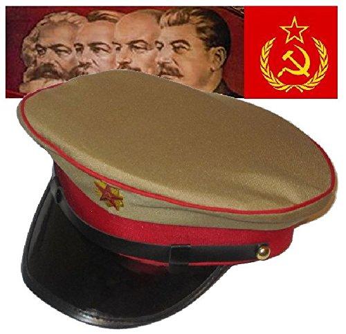 Mondial-Fete - Casquette Soviet Beige