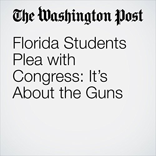 Florida Students Plea with Congress: It's About the Guns copertina