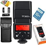 Godox TT350F Camera Flash 2.4G HSS 1/8000s TTL GN36 Camera Flash Speedlite for Fuji Digital Camera X-Pro2/X-T20/X-T2/X-T1/X-Pro1/X-T10/X-E1/X-A3/X100F/X100T
