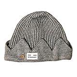 Jughead Jones Crown Hat Riverdale Cosplay Beanie Hat (Gray)