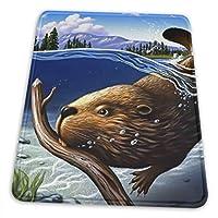 マウスパッド 忙しいビーバー ゲーミングマウスパット デスクマット 最適 高級感 おしゃれ 滑り止めゴム底 防水設計 複数サイズ