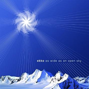 As Wide as an Open Sky
