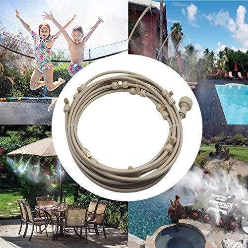 None - Aspersores de cama elástica para niños – Aspersores de juegos de agua al aire libre – Espray Waterpark Fun Summer Water Toys, 6M
