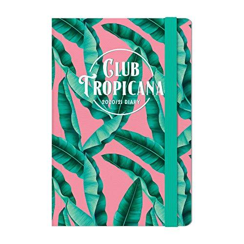 Legami - Agenda Settimanale 18 Mesi 2020/2021 Medium, con Notebook, Tropicana