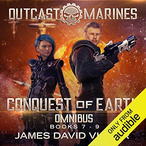 Conquest of Earth Omnibus cover art