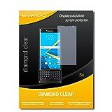 SWIDO 3 x Schutzfolie BlackBerry Priv Bildschirmschutz Folie DiamondClear unsichtbar
