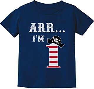 ARR I'm 1 - Pirate Birthday Party Gift for One Year Old Infant Kids T-Shirt