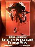 Leichen pflastern seinen Weg - Klaus Kinski - Filmposter A1