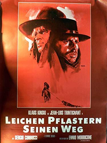 Leichen pflastern seinen Weg - Klaus Kinski - Filmposter A1 84x60cm gerollt