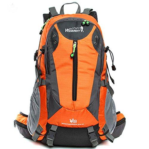 Hommes Femmes sac à bandoulière extérieur paquet 40L alpinisme sac à dos sac de Voyage léger