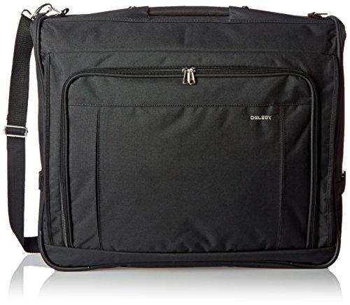 DELSEY Paris Deluxe Garment Hanging Travel Bag, Black, 45 Inch