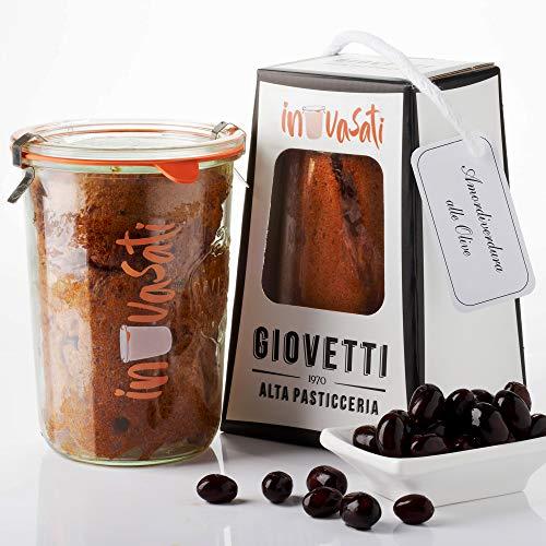 Panettone Salato alle Olive Artigianale in Vasocottura | 280gr | IN-VASATI® | Novità assoluta |...