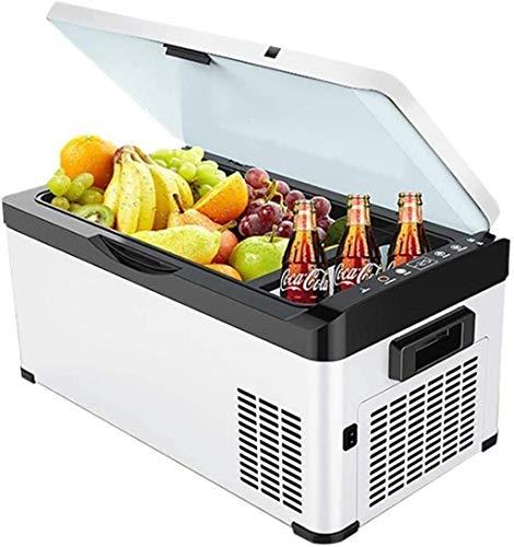 ZFFSC Refrigerador de Coche Refrigerador de Coches COMPRESOR DE COMPRÍCULO Refrigerador 24V / 12V / 220-240V (20L / 26L / 30L) Caja de refrigeración eléctrica Nevera portátil Refrigerador de Coche