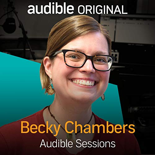 Becky Chambers audiobook cover art