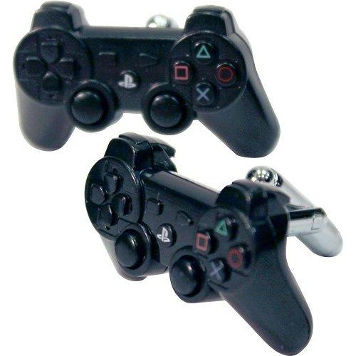 numskull Manschettenknöpfe - Cufflinks im Playstation Dualshock 3 Controller Design - schwarz