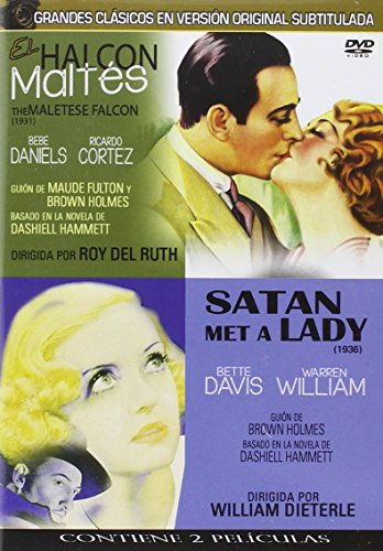 El halcón maltés 1931 & 1936 Clásicos en V.O.S y Satan met a Lady (2 peliculas/ 1DVD)