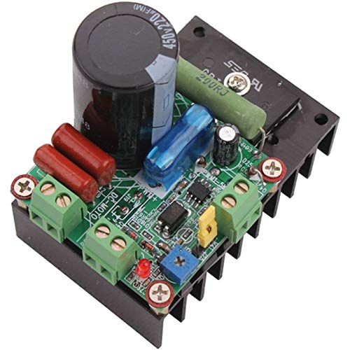 Lruirui-Motor DC Motor 12V / 24V / 48V / 110V DC, Ajuste PWM MACH3 Husis Controlador de Velocidad CNC, Larga Vida útil
