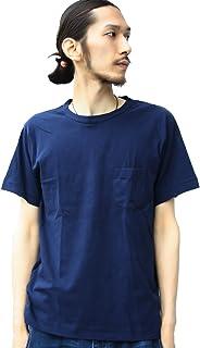 (ジーアールエヌ) grn Uネック ポケット付き 半袖Tシャツ無地 カットソー パックT 白 ポケットT 黒 グレー ネイビー カーキ ジーアールエヌ メンズ ユニセックス インナー