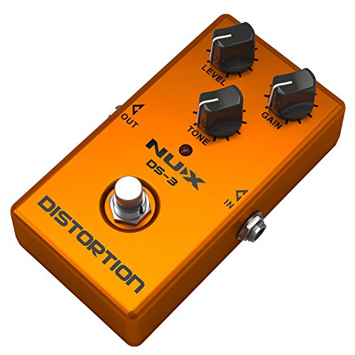 JEERUI NUX DS-3 Distortion Guitar Pedal True Bypass with Classic & Blues Rock Tone