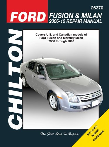 Ford Fusion & Milan 2006-10 Repair Manual