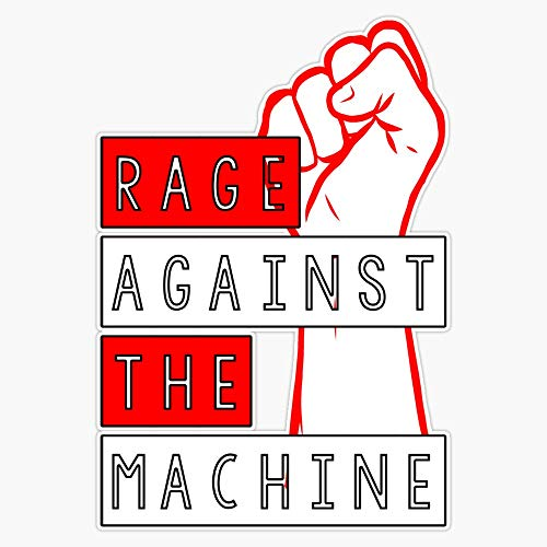 Rage Against The Machine Vinyl Stickers Waterproof Decal Car, Laptop, Bumper Stickers 5'