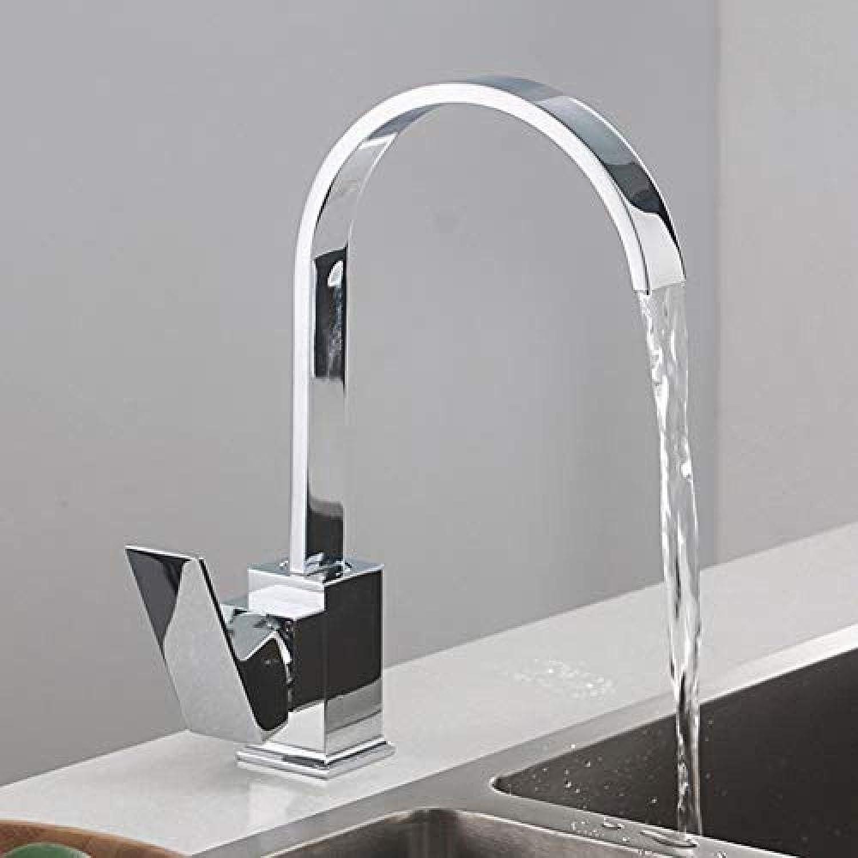 Küchenmischer Neue Ankunft Messing Küchenarmaturen Spülbecken Wasserhahn Kalt- und Warmwasser Einlochmontage Wasserhahn Messingmischer