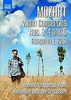 Mozart: Violin Concertos 3-5 & Adagio in E K 261 [DVD]