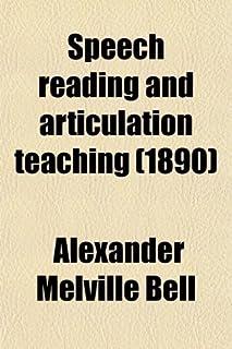 Speech Reading and Articulation Teaching