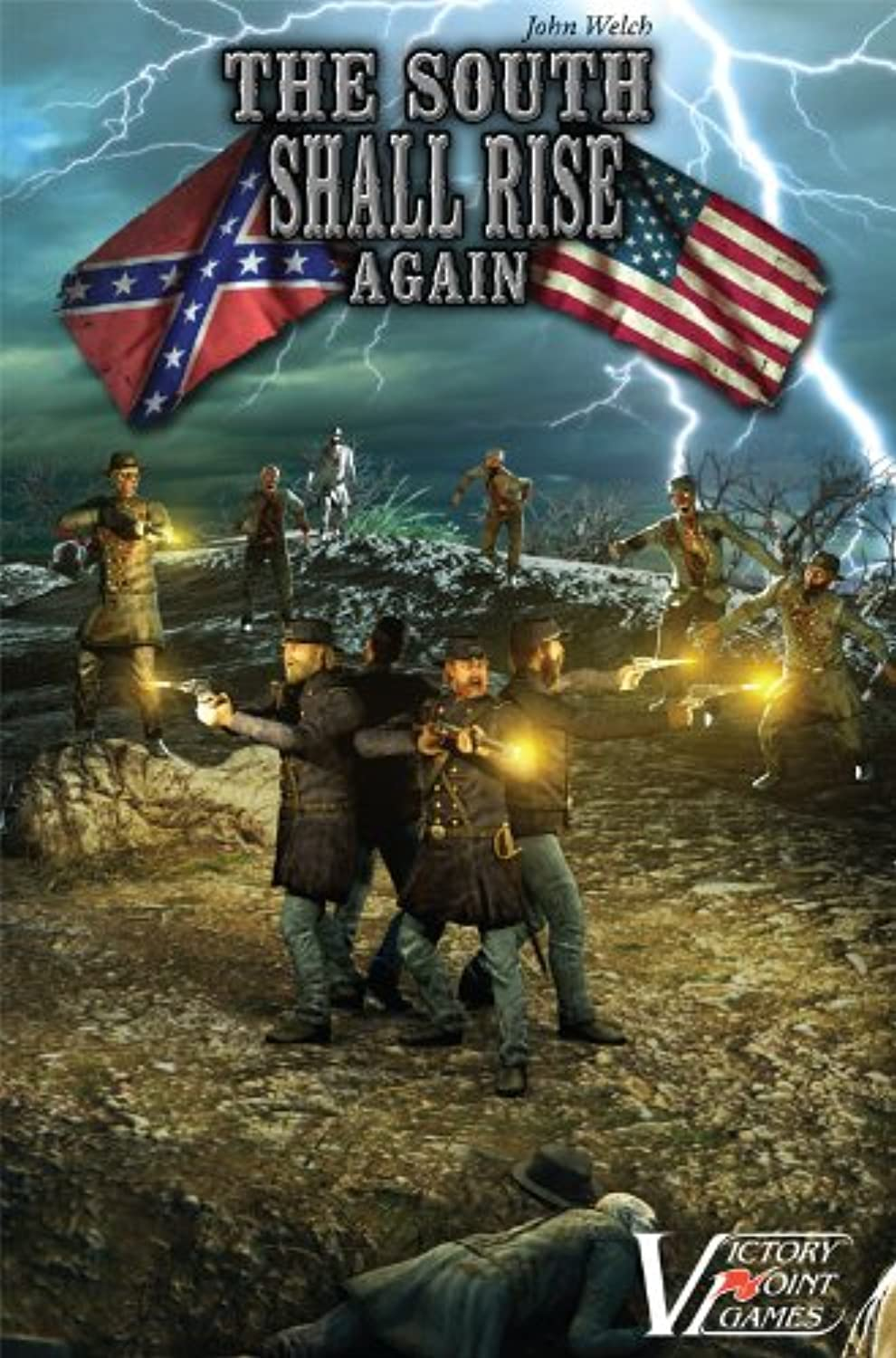The South Shall Rise Again - Civil War Zombies Boxed Board Game