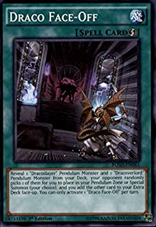 2016 Yu-Gi-Oh Breakers of Shadow 1st Edition #BOSHEN061 Draco Face-Off C