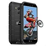 Móvil Resistente, Ulefone Armor X7 Pro Android 10 Movil Antigolpes, 4GB RAM 32 GB ROM(SD 128GB), Cámara Trasera de 13 MP, Smartphone Impermeable IP68, Dual SIM Global 4G LTE, GPS/NFC/OTG (Negro)